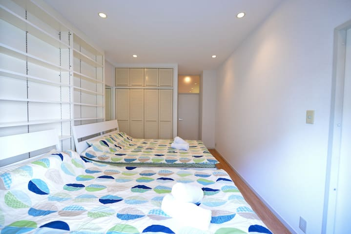 Shinagawa,JR/Metro Gotanda stn. grand family room8 - Shinagawa - Apartment