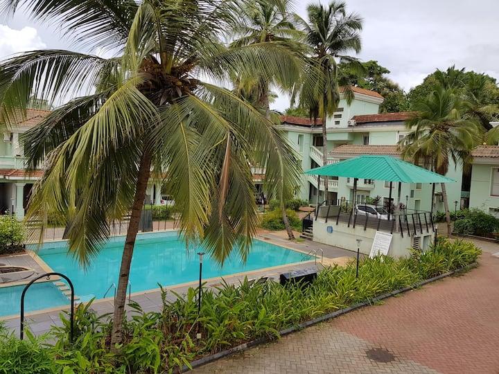 Villa near  Benaulim Beach , South Goa