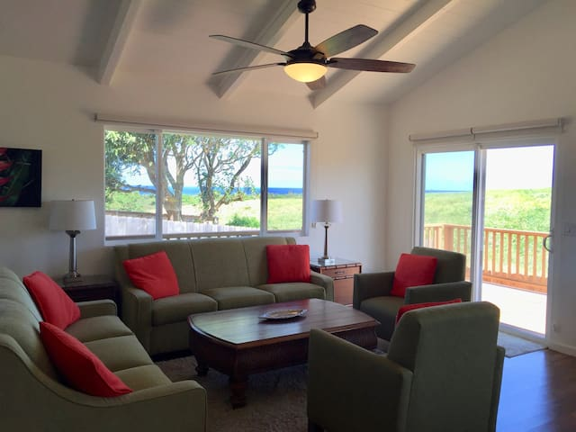 Beautiful ocean view home with central A/C