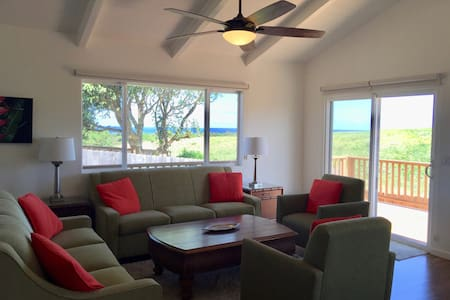 Beautiful ocean view home with central A/C - Paia - Haus
