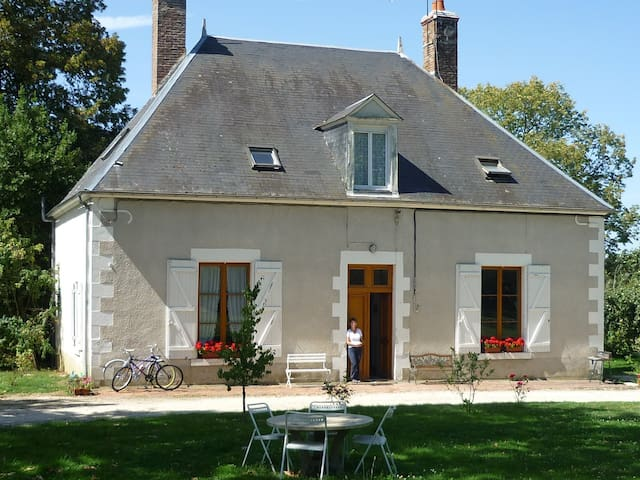 Grande maison de campagne Le Vernoy - Arquian - Dom