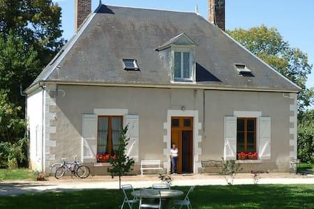 Grande maison de campagne Le Vernoy - Arquian - Talo