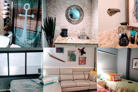 9th Floor Updated 2 Bed/2 Bath Oceanfront Condo