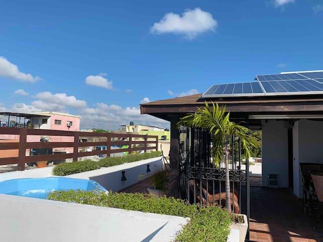 Exclusive Rooftop Lounge ♥ Ocean View ♥ Green Life