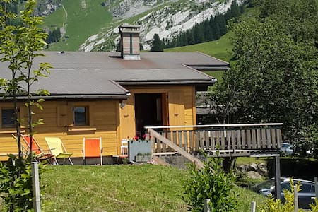 Authentic chalet in Confins La Clusaz 4-6 pers.