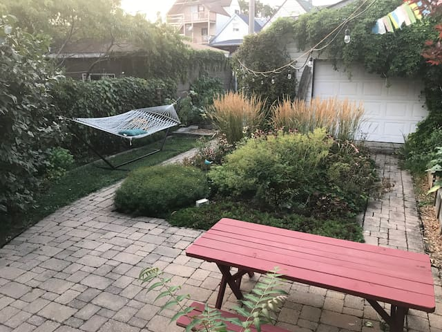 Bd/Bth with beautiful yard & private entrance