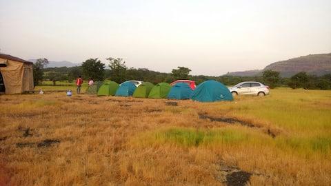 Camp Site at Sandhan Valley, Bhandardara