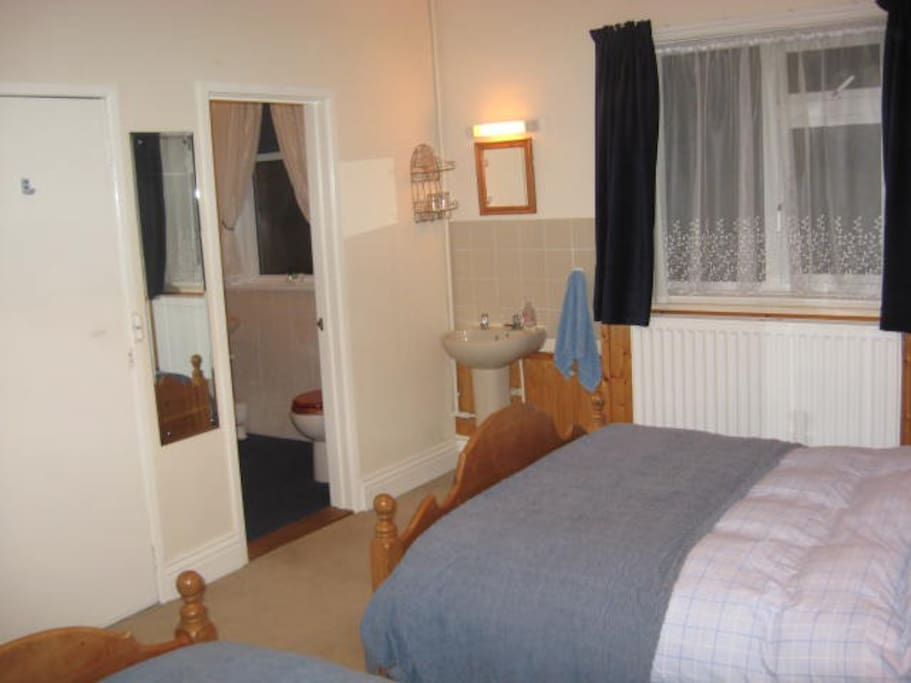 Our family room with en-suite shower room