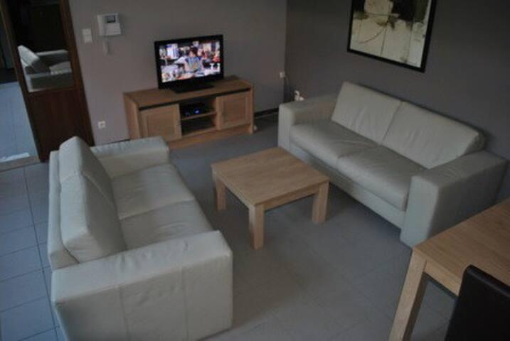 Appartement met stadstuintje centrum Tongeren - Tongeren - Apartament