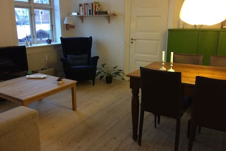 Central lejlighed i Horsens til to personer - Horsens - Apartment