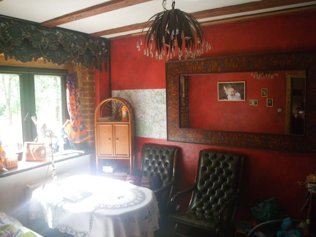 pokoj z osobnym wejsciem - Wlen - Haus