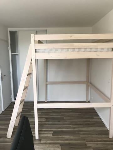 2 Chambres privées dans appartement de 80m²