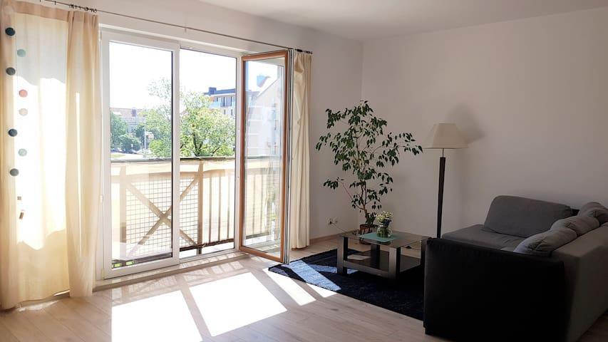 Słoneczny apartament w sercu Mazur*blisko jeziora