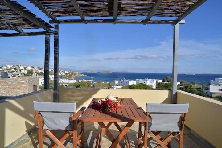 Marina's Sea View Studio - near the Beach