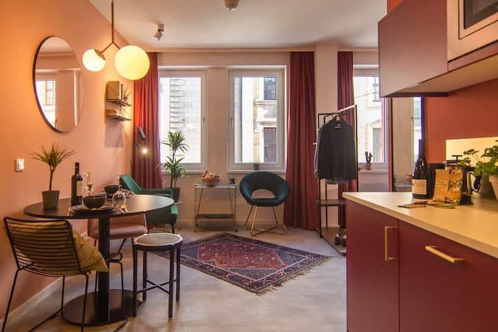 Mena Astoria: Studio Apartment an der Oper 29m2