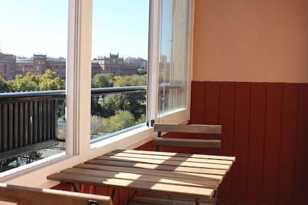 Apartamento luminoso y con bonitas vistas - Madryd