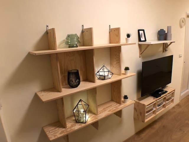van Gogh's secret studio -Irises 荷蘭梵谷的秘密套房公寓 -鳶尾花