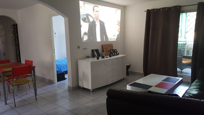 Bel appartement proche de la plage de Boucan Canot - Boucan Canot - Leilighet