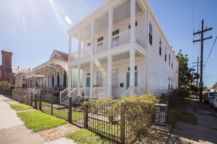 Beautiful Lower Garden District Home on Jackson