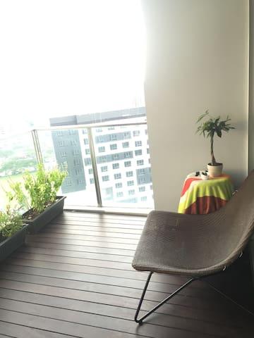 阳台 balcony