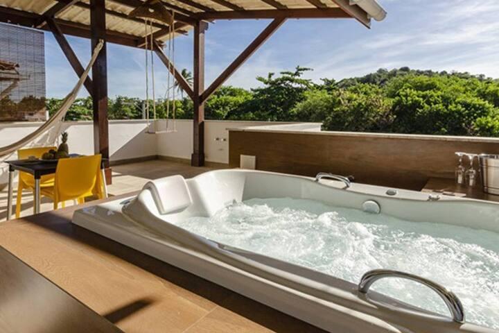 Condominio Luna Rossa - Phobos Luxury Loft Jacuzzi