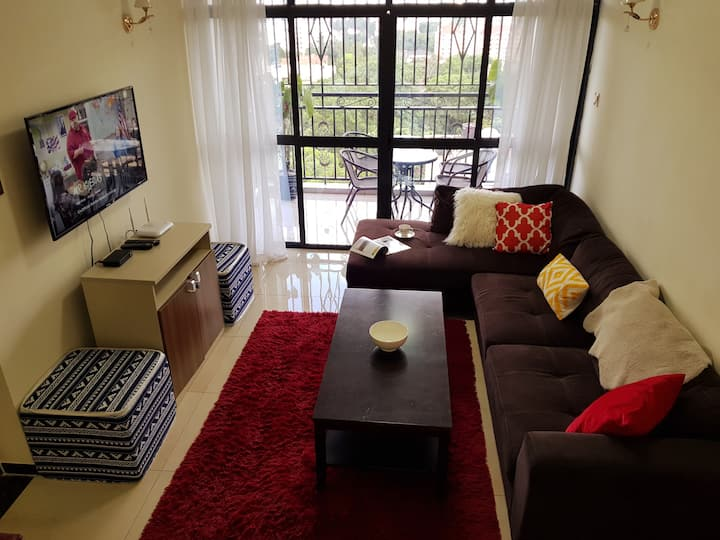 5★ Nairobi View, Bright 4BD+3bath Near Social Hub