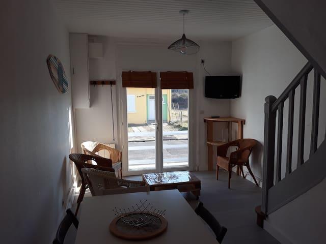 """""""La Pirogue"""" maison proche plage et centre ville"""