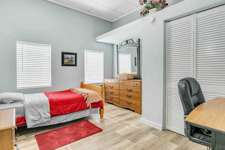Charming two bedroom with private deck.