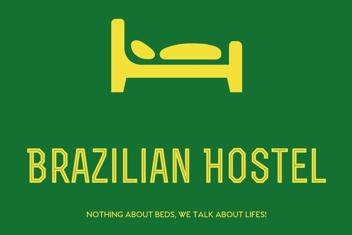 VI) Brazilian Hostel & Kitchen Shared 4 beds