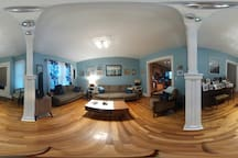 First floor common area in 360.