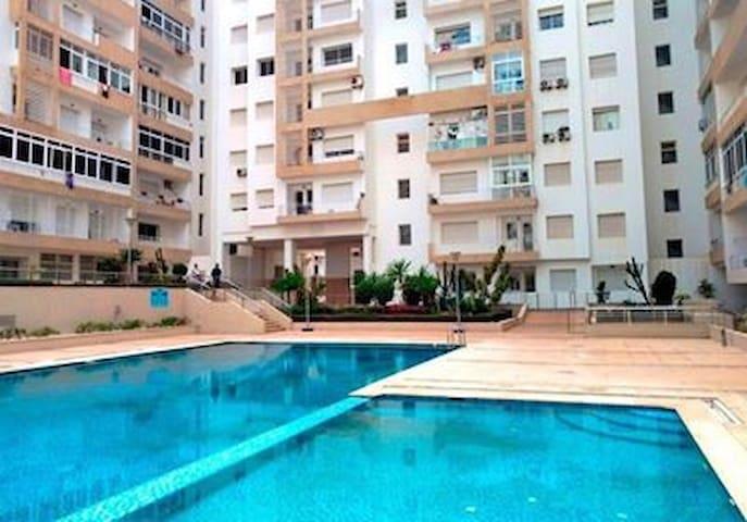 agadir appartement 1 chambre piscine residentielle