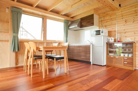 (Entire house)Rural farmstay near Chitose Airport