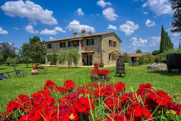 Appartamentino molto intimo alle soglie di Assisi!