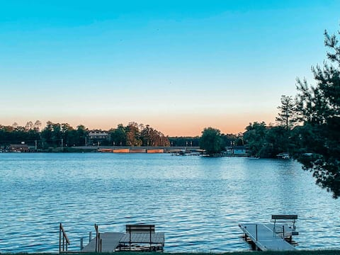 Lake Cabin in the Heart of Downtown Minocqua, WI
