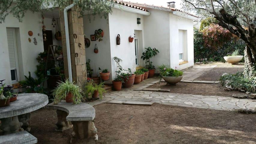 Habitación en plena naturaleza - Castellar del Vallès - Huis
