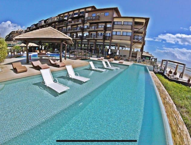 Belo Resort pé na areia, serviço de alto padrão
