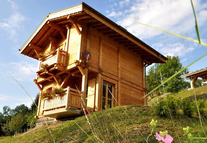 Petit chalet cosi à la montagne pour 6 personnes - Arâches-la-Frasse - Chalet