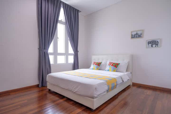 Classic Stay In Unbelievable 2BR 1medini