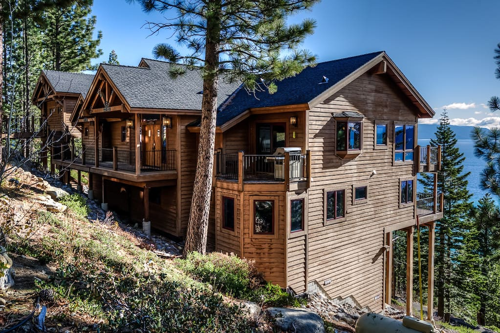 Unforgettable lake tahoe cabin houses for rent in tahoma for Rent a cabin in lake tahoe ca