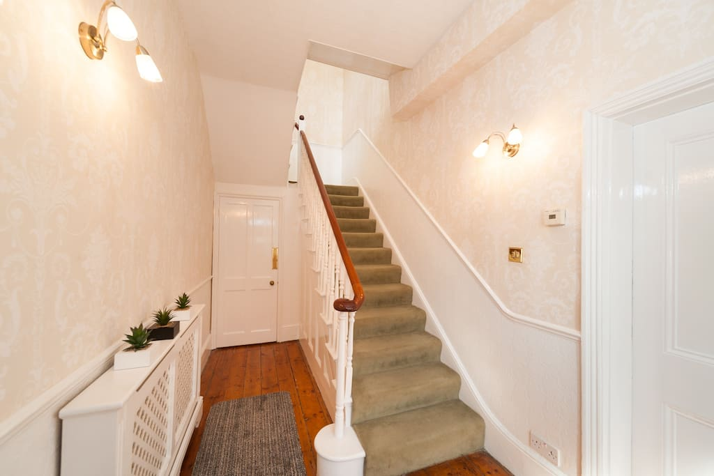 Hallway Leading to Cloakroom and Cellar