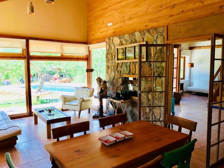 Casa con Piscina privada Alma Del Elqui