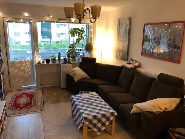 Trevlig lägenhet mitt i Uppsala