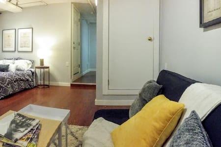 Amazing studio with private garage!