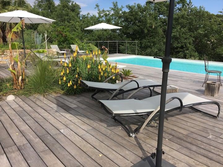 Mini Villa Chet Baker ileblanche Côte d'Azur