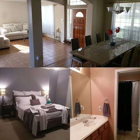 Spacious Relaxing Home - Upstairs Bedroom