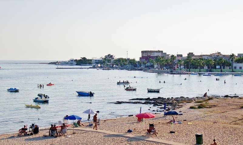Casa sulla spiaggia di Porto Cesareo - Porto Cesareo - Apartamento