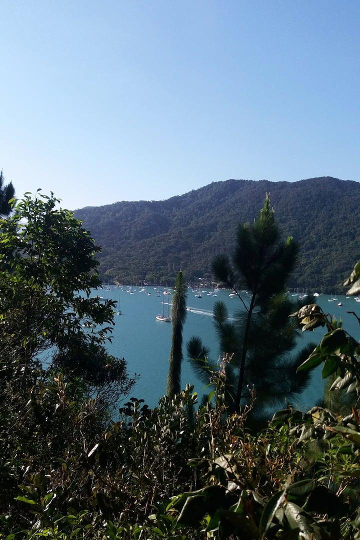 Vista da trilha