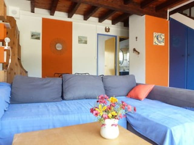 joyeuse maison de vacances à 2 pas de la plage - Fleury - Rumah percutian