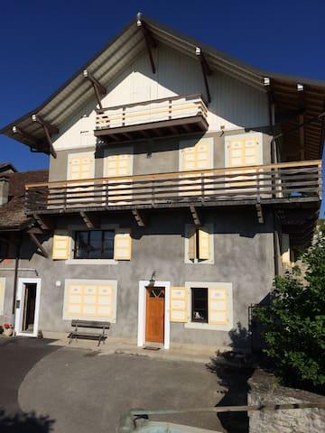 Petit appartement calme et champêtre - Loisin - Apartamento