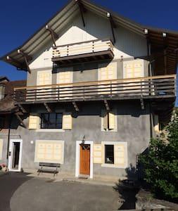 Petit appartement calme et champêtre - Loisin